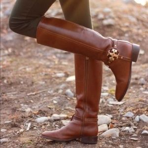 Tory Burch Aaden leather riding boots